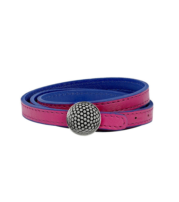 bracelet-triple-tour-femme-reversible-de-luxe-en-cuir-fushia-bleu-finition-titane-fermoir-decayeux-paris