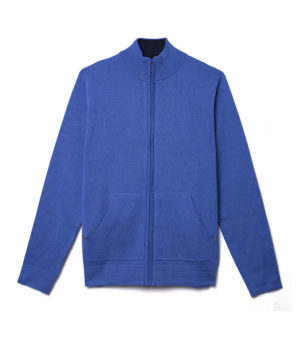 cardigan-blue-golf-homme-bleu-decayeux-paris