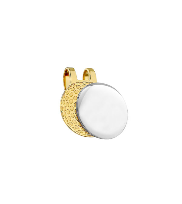 Ball Marker Cap Clip - Freshness Collection gold finish