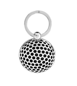 golf ball with lacquered dimples key ring - Freshness Collection-decayeux-paris