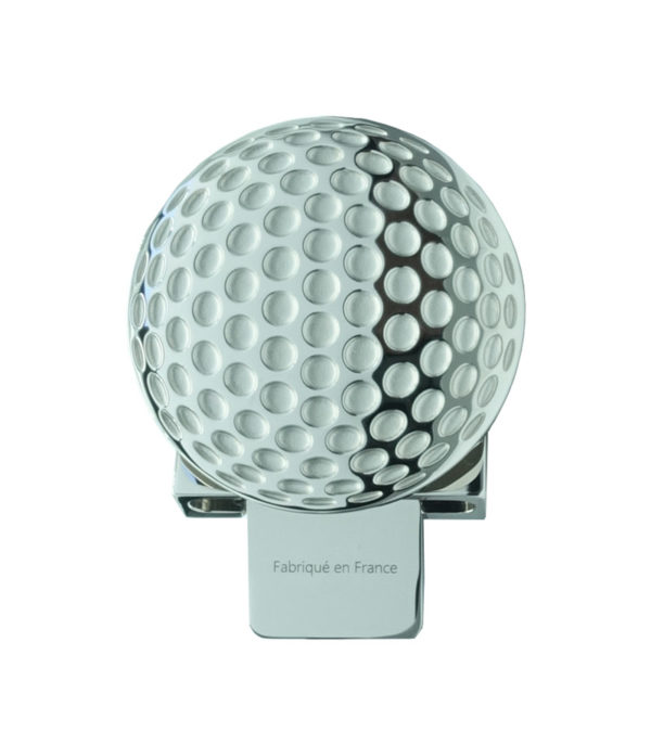 boucle balle de golf finition palladium Decayeux Paris